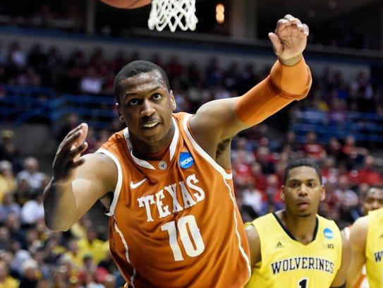Texas forward Jonathan Holmes.