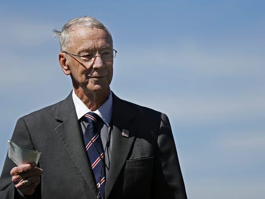 College of the Ozarks president Jerry Davis