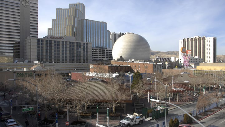 The Reno City Council is looking for a developer to do something productive with the former CitiCenter bus hub, seen here in a 2012 file photo.