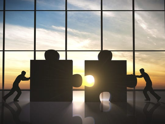 In a merger, you'll likely own shares of stock in the
