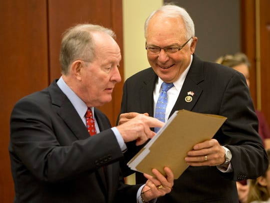 Sen. Lamar Alexander, R-Tenn., chairman of the Senate