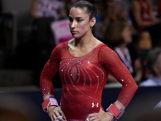Aly Raisman says she, too, was abused by USA Gymnastics