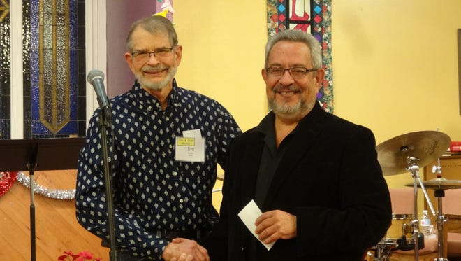 This award for $1000 is presented by James Helder Poncho Romero at the society's monthly concert Feb. 18.