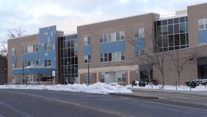School 12 at 999 South Avenue, where Trevyan Rowe was last seen.