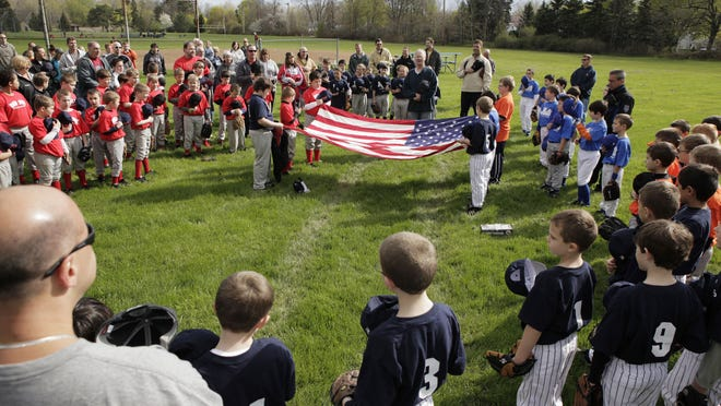 A file photo of an opening ceremony for Greece Little League in 2011.