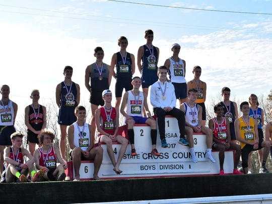 Lakota East, Middletown and St. Xavier had runners