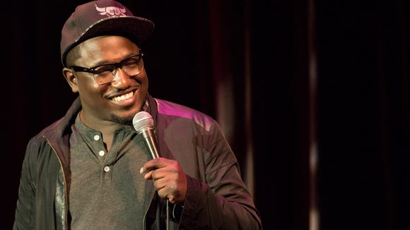 Hannibal Buress performing at The Grand in Wilmington last week.
