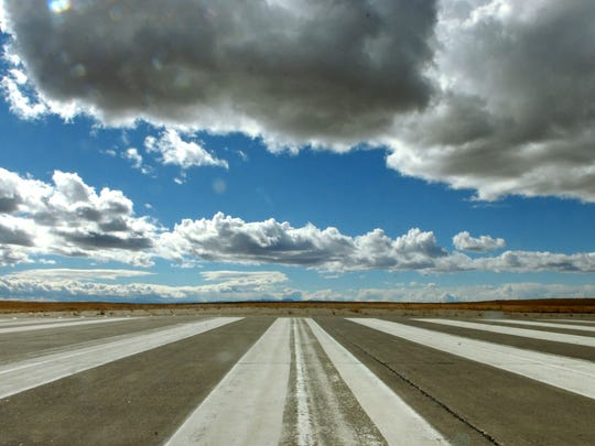 The runway at Malmstrom Air Force Base has not been used in more than 20 years.