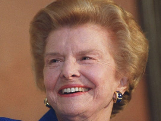 betty ford gerald funeral obit