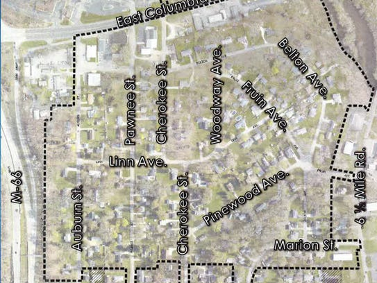 Homeowners in this Emmett Township neighborhood could