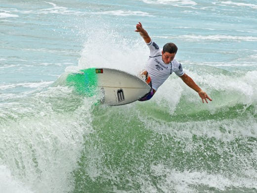 NKF surf festival in Cocoa Beach was Kelly Slater's launching pad