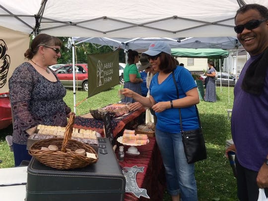 The East Knoxville Farmers' Market kicked off on Sunday,