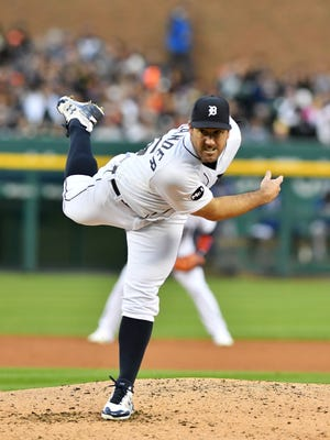 Justin Verlander has only thrown his change-up 4.7 percent this season compared to 8.5 percent in 2016, according to Brooks Baseball.