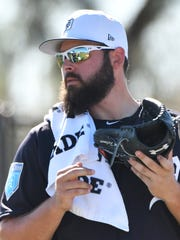 "Michael Fulmer: ""I just trying not to waste too many"