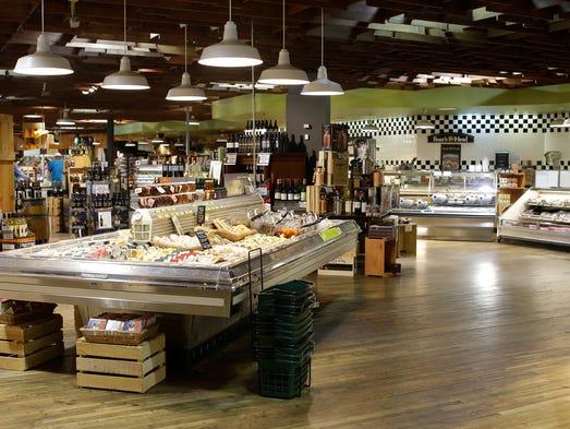 Inside Woodlake Market as seen, Wednesday, Sept. 6,