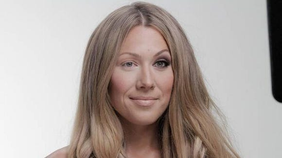"Colbie Caillat takes it all off for her new music video ""Try"" - she takes off the hair extensions, the false eyelashes, and the makeup."