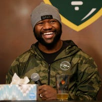 Packers' Ty Montgomery: 'At the end of the day, we still have to make the plays on the field'