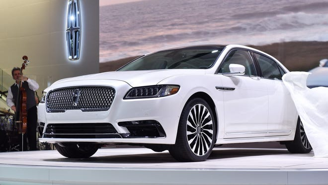 The Lincoln Continental earned top honors as Ford Motor Co. picked up three awards for its new cars and trucks in The Detroit News annual Readers' Choice Awards.