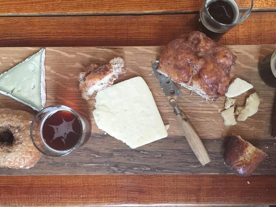 The Rhined is a specialty cheese shop which recently opened in Over-The-Rhine on Elm St. near Findlay Market.