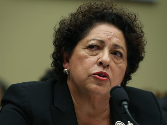 Katherine Archuleta, director of the Office of Personnel