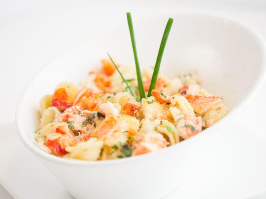 Chardonnays, in general, would pair perfectly with dishes like surf and turf, grilled lobster or fish, roasted chicken or any creamy pasta like the great lobster mac 'n cheese from Marco Prime