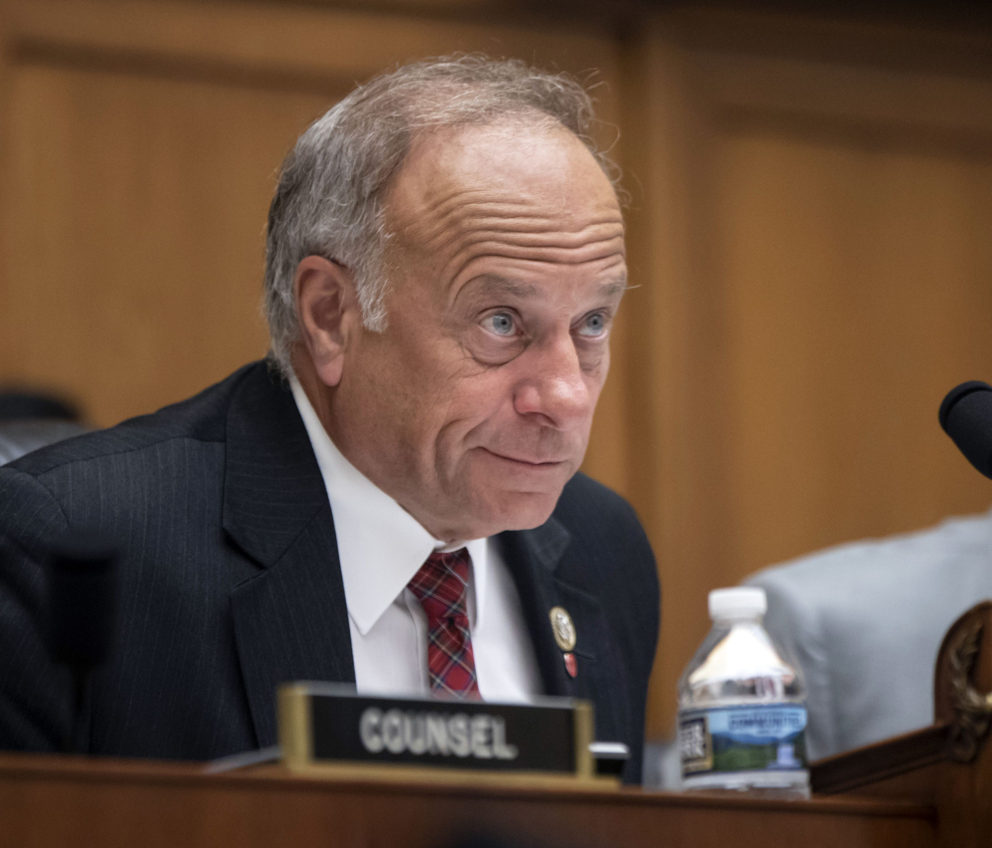 Rep. Steve King, R-Iowa, an outspoken conservative on immigration, chairs a House Judiciary Subcommittee on the Constitution and Civil Justice hearing on the Trump Administration's plan to add citizenship questions to the 2020 census, on Capitol Hill