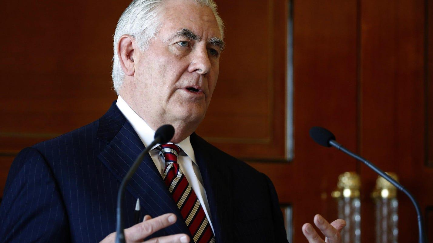 Tillerson: 'Talks,' but no 'negotiations' with N. Korea