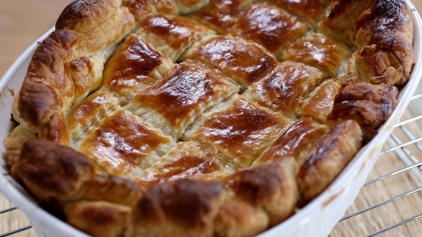 Thanksgiving Leftovers Recipe Turkey Pot Pie With Puff