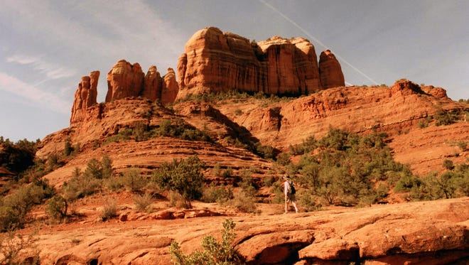 Several stunning red-rock vistas await hikers along the first mile or so of Boynton Canyon Trail near Sedona.
