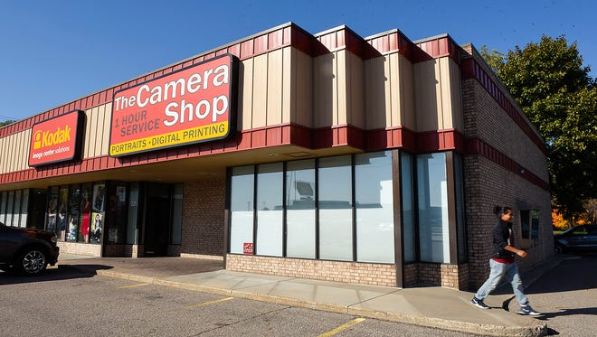 The Camera Shop also has a location near Crossroads Center shown Friday, Oct. 13, in St. Cloud,