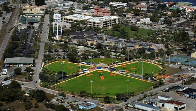 Sailfish Park is located just southeast of the Martin County courthouse complex as seen in this March 2012 file photo.