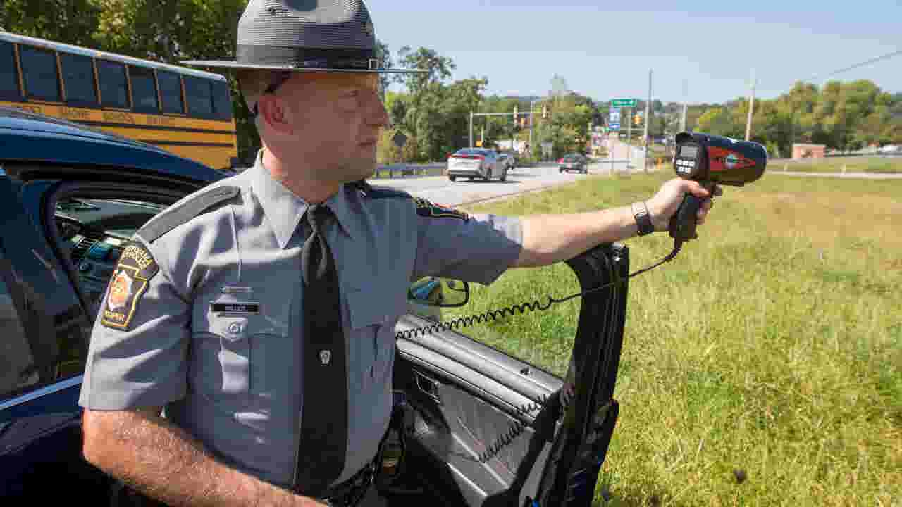 Stopping speeders on Interstate 83