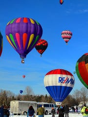 Hot Air Affair, taking place in February, hosts an evening parade, hot air balloon launches, smooshboarding (you'll just have to attend to find out what that is), and hot air balloon moon glow.