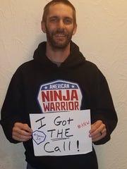 "Chris Cambre of New Orleans represents Louisiana on season 10 of NBC's ""American Ninja Warrior."""