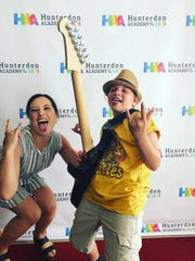 Liana Nobile and Brooke Rogers at the Hunterdon Academy
