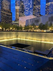 The National 9/11 Memorial & Museum in New York City commemorates the terrorist attacks on September 11, 2001 and honors those fallen.