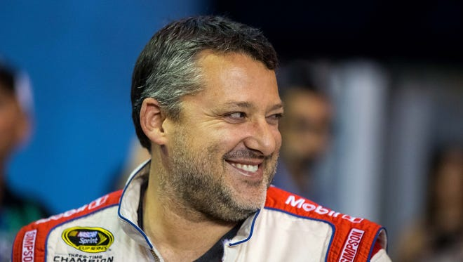 Tony Stewart is known to be a huge fan of racing (and watching racing) in Knoxville, Iowa. On Saturday night, he'll compete at the legendary sprint car track.