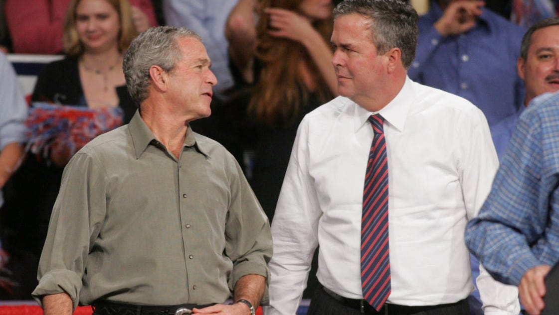 George W. Bush does ad for Jeb super PAC