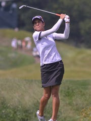 Paula Reto during the third round of the Yokohama Tire LPGA Classic on the Senator Course of Robert Trent Jones Golf Trail at Capitol Hill on Saturday in Prattville, Ala..