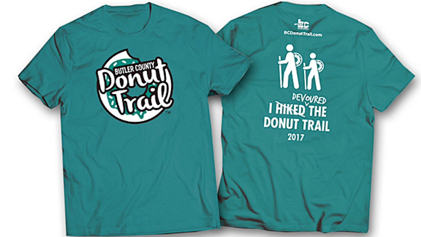 Study donut trail has 1 million impact for Local t shirt print shops