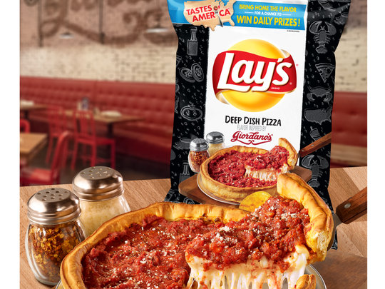 Lay's Deep Dish flavor. Picture courtesy of Frito Lay.
