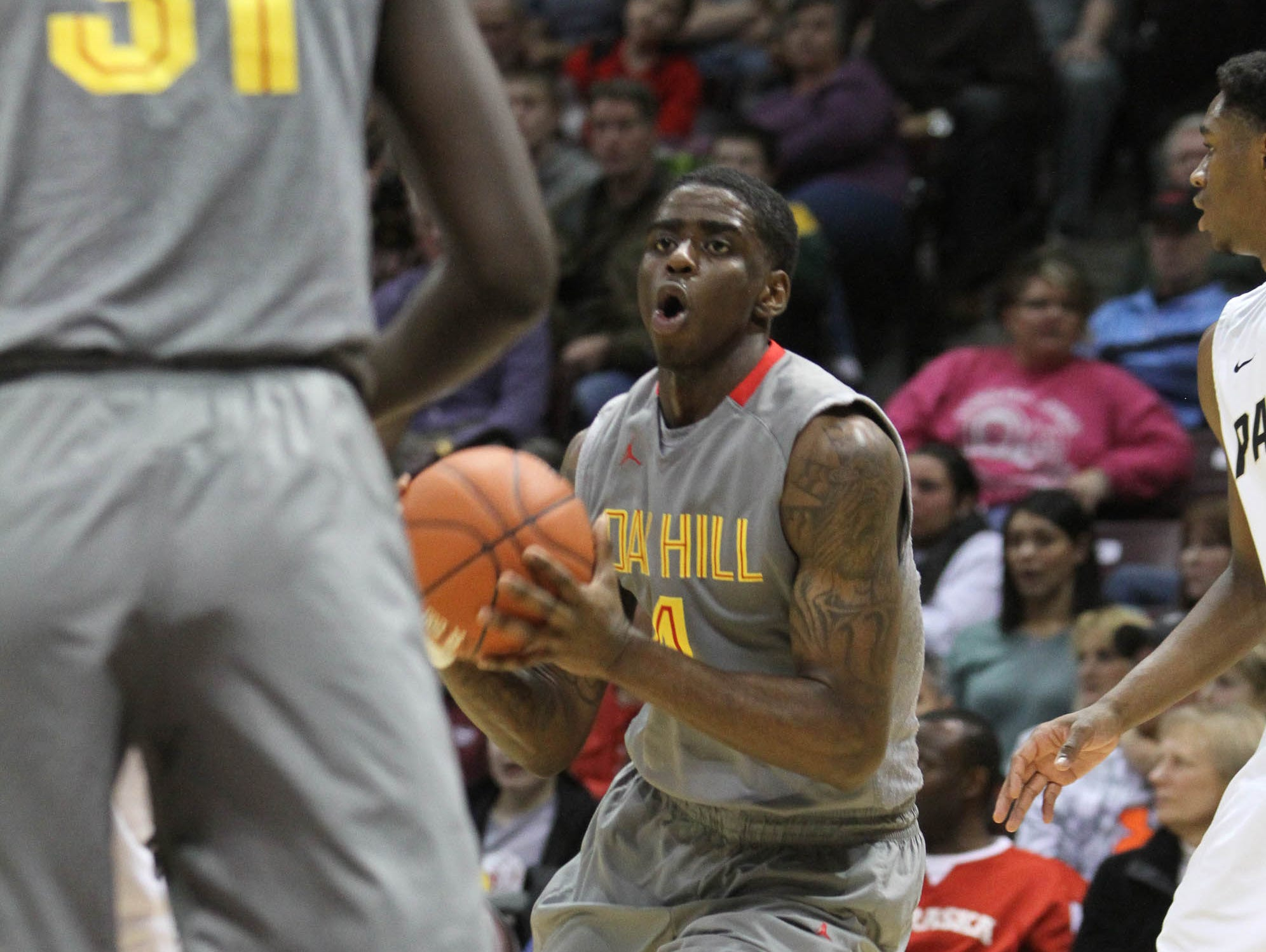 Oak Hill Academy's Dwayne Bacon went on to play at Florida State University upon graduating from Oak Hill in 2015.