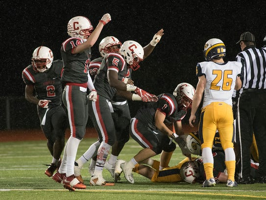 The Canton Chiefs are fired up after forcing a Saline