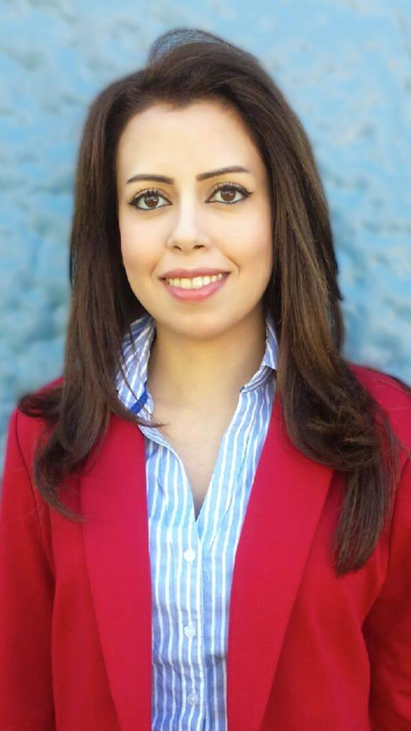 Sarah Taha (photo courtesy of Phi Theta Kappa)