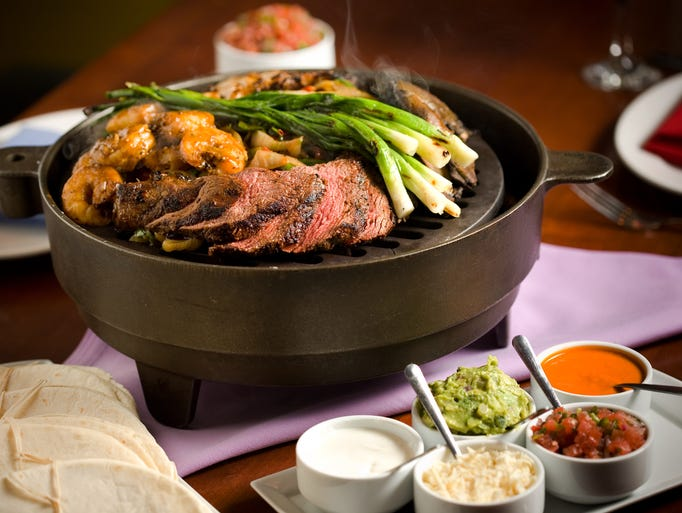 El Vez restaurant in Philadelphia offers an array of incredible tacos, including its Grilled Shrimp Tacos al Carbon.