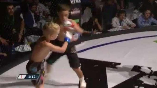 """Mixed martial arts fights involving children as young as age 8 were called """"unacceptable"""" by leading Russian MMA pro Fedor Emelianenko."""