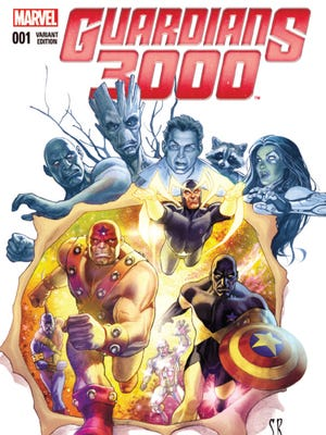 """The original Guardians of the Galaxy are back in the new Marvel Comics series """"Guardians 3000."""""""