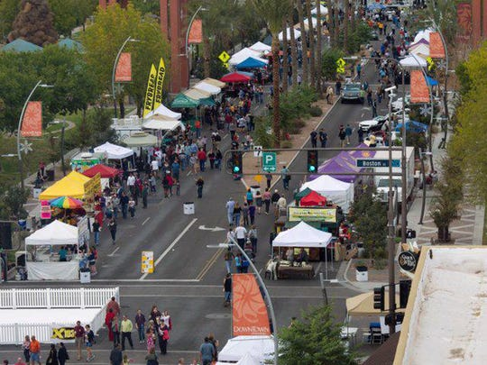 The third annual Rock the Block celebration shows off