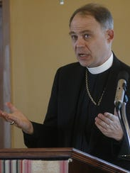 John Bauerschmidt, bishop of the Episcopal Diocese