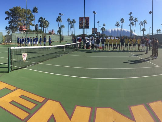 ASU men's tennis